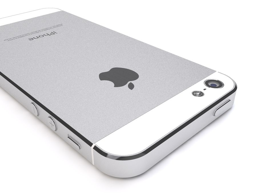 Apple iPhone 5 royalty-free 3d model - Preview no. 10