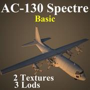 C130 Basic 3d model