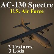 C130 미국 3d model