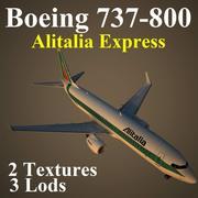 B738 AZA 3d model