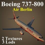 B738 BER 3d model