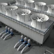 Industriell enhet 9 3d model