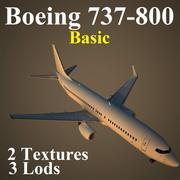 B738 Basic 3d model