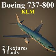 B738 KLM 3d model