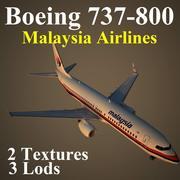 B738 MAS 3d model