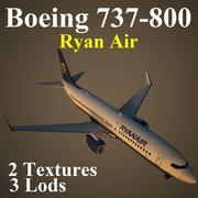 B738 RYR 3d model