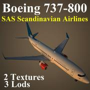 B738 SAS 3d model