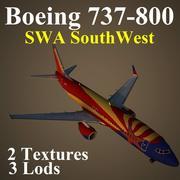 B738 SWA 3d model