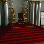 Sala tronowa 3d model