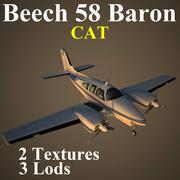 BE58 CAT 3d model