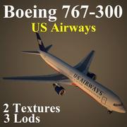 B763 USA 3d model