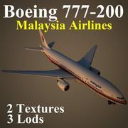 B772 MAS modelo 3d