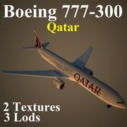 B773 QTR 3d model