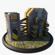 Reaktor 3d model