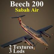 BE20 SAX 3d model