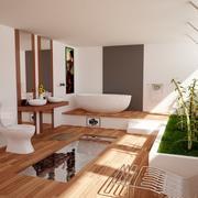 Badezimmer Szene 2 3d model