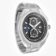 公民手表超级钛生态驱动器 3d model