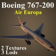 B762 AEA 3d model
