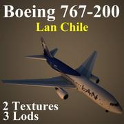 B762 LAN 3d model