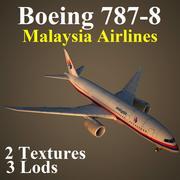 B788 MAS modelo 3d