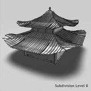 Casa da Dinastia Ming 3d model