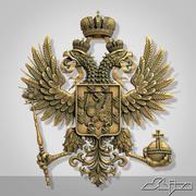 Escudo de armas de Romanov modelo 3d