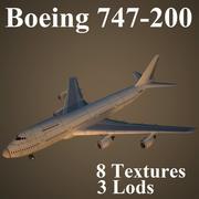 B742 3d model