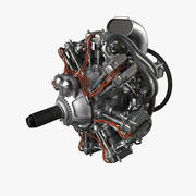 radial engine(1) 3d model