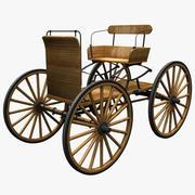 Buckboard Wagon 3d model