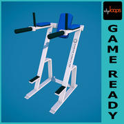 gym Hammer Strength Leg Raise Abs Exercise 3d model