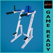 Hammer Strength Leg Raise Abs Exercise 3d model
