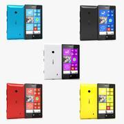 Nokia Lumia 520 Todas as Cores 3d model