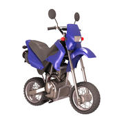 Minimotocross Toon Bike 3d model