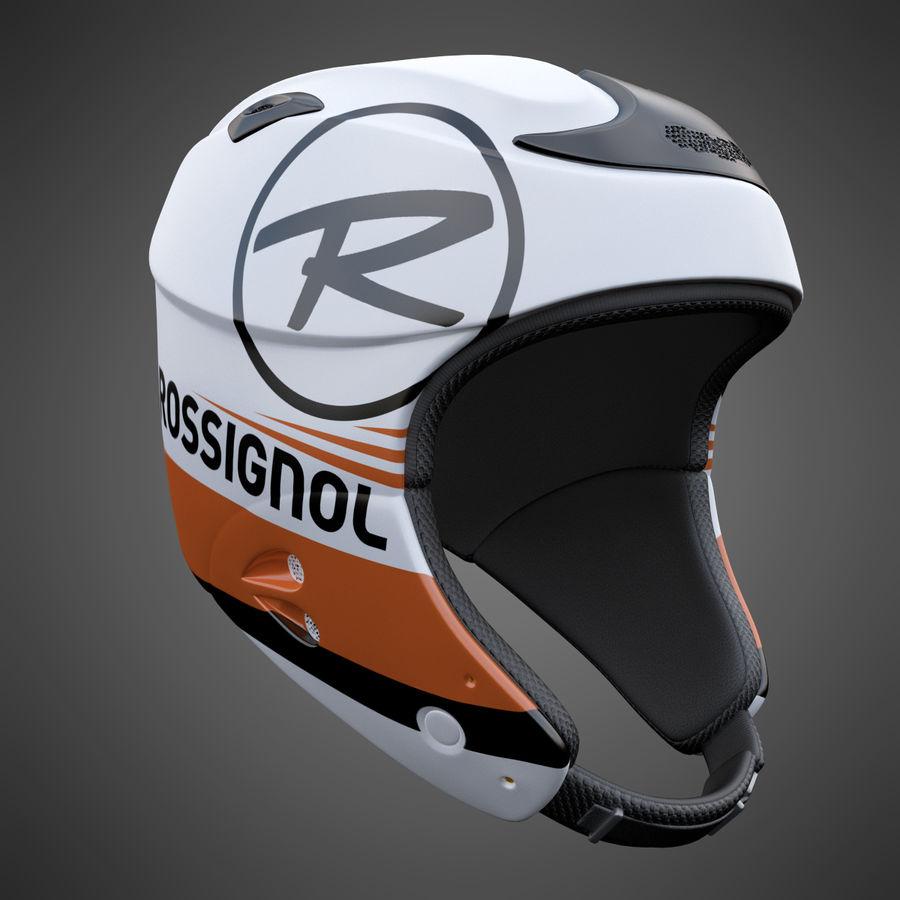 Alpine Helmet royalty-free 3d model - Preview no. 2