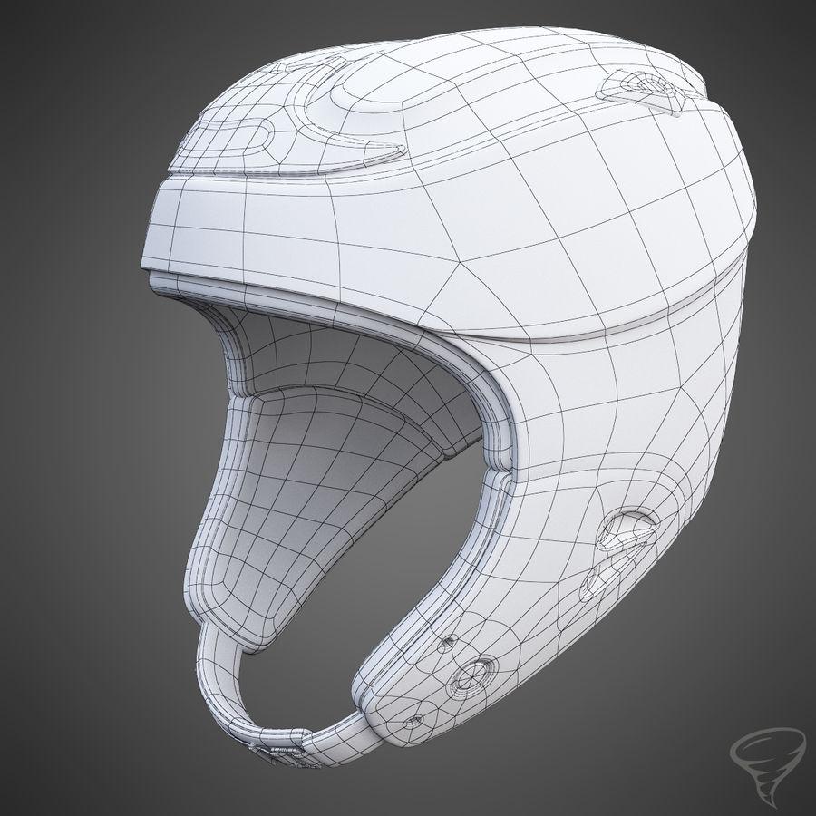 Alpine Helmet royalty-free 3d model - Preview no. 13