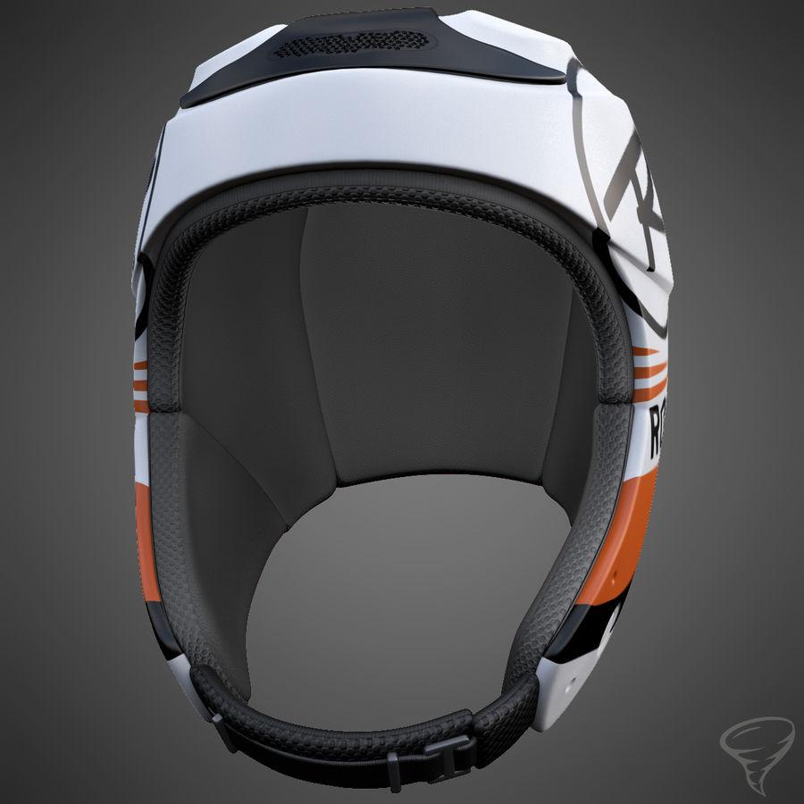 Alpine Helmet royalty-free 3d model - Preview no. 6