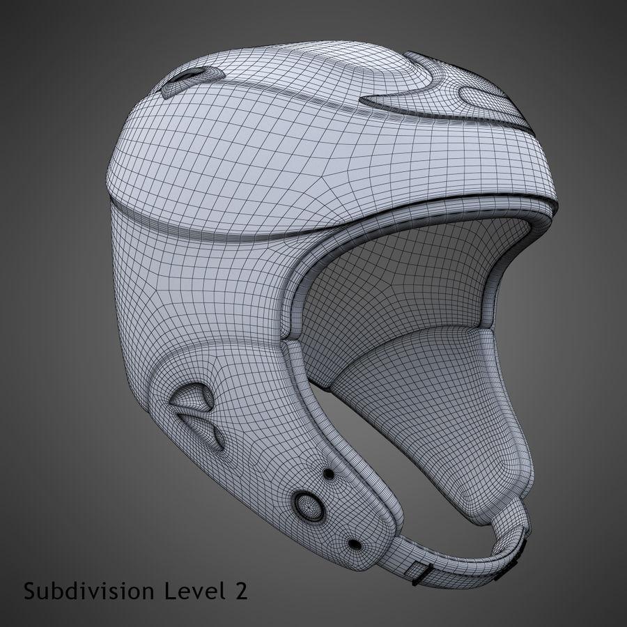 Alpine Helmet royalty-free 3d model - Preview no. 23