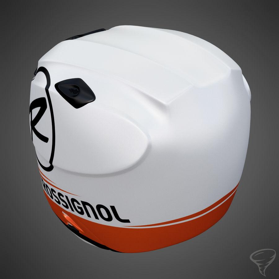 Alpine Helmet royalty-free 3d model - Preview no. 4