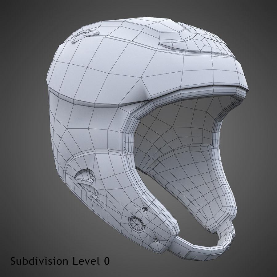 Alpine Helmet royalty-free 3d model - Preview no. 21