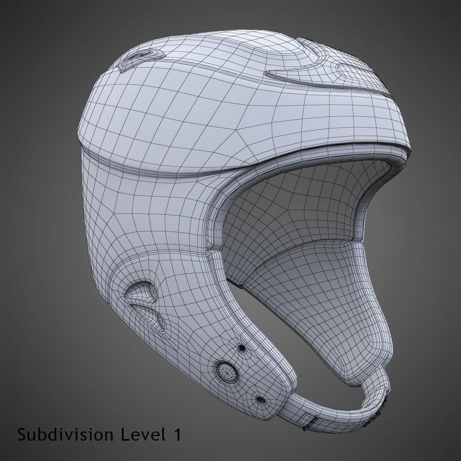Alpine Helmet royalty-free 3d model - Preview no. 22