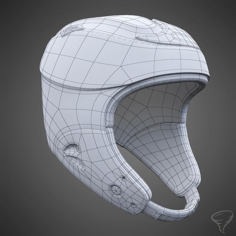 Alpine Helmet royalty-free 3d model - Preview no. 12