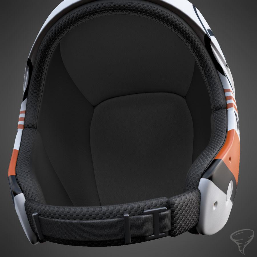 Alpine Helmet royalty-free 3d model - Preview no. 7
