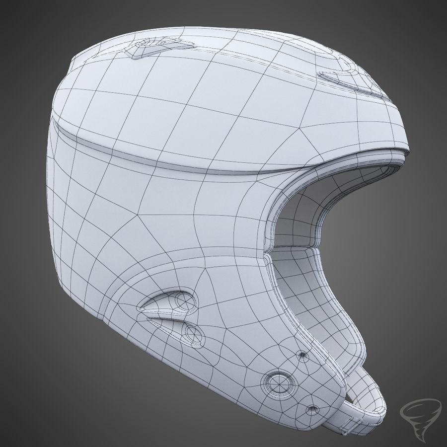 Alpine Helmet royalty-free 3d model - Preview no. 15