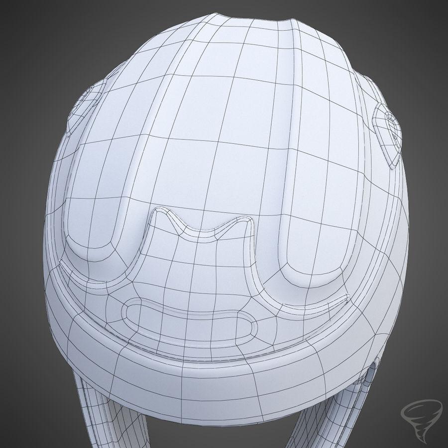 Alpine Helmet royalty-free 3d model - Preview no. 18