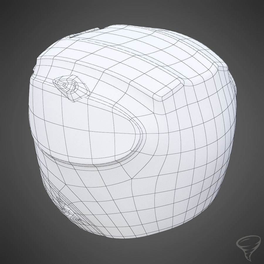 Alpine Helmet royalty-free 3d model - Preview no. 14