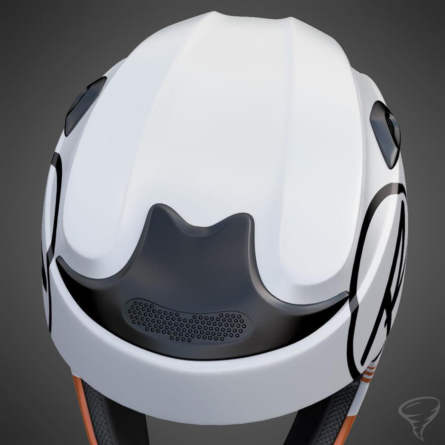 Alpine Helmet royalty-free 3d model - Preview no. 8