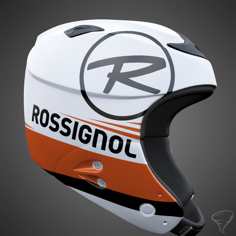 Alpine Helmet royalty-free 3d model - Preview no. 5