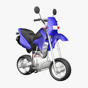 Enduro 125cc Toon Bike DSR 3d model