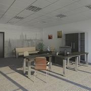 近代的なオフィス 3d model