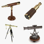 Telescope Collection 3d model